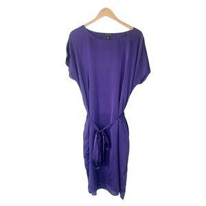 NWT Eileen Fisher Purple Athena Ballet Silk Dress